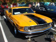 Did You Know? This Is One of 96 Original 1970 Ford Mustang Twister Specials (Owned By Brian Slusser). 48 Of These Mustangs Had 428 SCJ Engines And The Other 48 Had 351 Cleveland Engines (Pictured).   Who Knows How Many Of These Are Still Known To Exist?