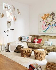 This interior oozes elegance and charm which has been achieved with cool colours and glamorous classic style details added as finishing touches. The interior design of this extraordinary and welcoming Barcelona apartment is by Mireia Pla of Studio Vuong.