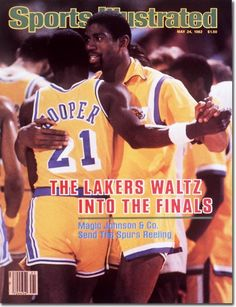 Image detail for -On the Cover: Michael Cooper, Basketball, Los Angeles Lakers
