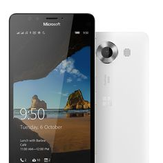 Discover the Microsoft Lumia 950 Dual Sim! It has the latest generation Hexa-core processor, USB-C fast charging unique features like triple LED natural flash