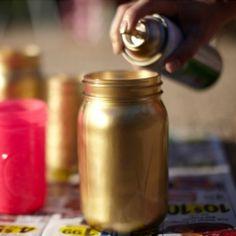 DIY: Gold Wedding Decor DIY Roundup