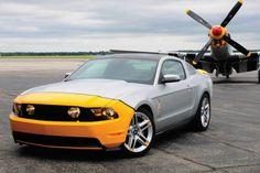 Mustang meets Mustang.