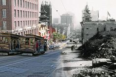 Shawn Clover's composite photographs of 1906 San Francisco earthquake and present-day (PHOTOS).