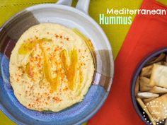 Mediterranean Hummus www.ceceliasgoodstuff.com for the recipe
