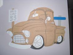 Jim's 55 Chevy