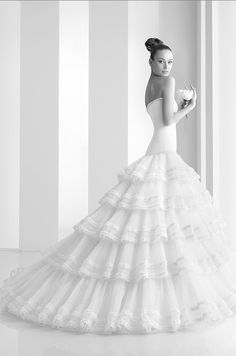 Spanish Inspired Wedding Dress. So Gorgeous!