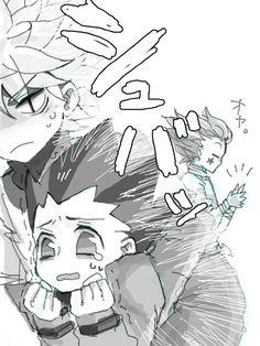 Killua, Gon, and Hisoka ~Hunter X Hunter