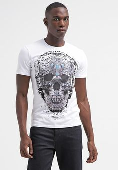 Pedir  Just Cavalli Camiseta print - white por 69,95 € (18/06/17) en Zalando.es, con gastos de envío gratuitos.
