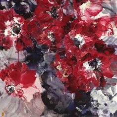 Bobbie Burgers' explosive painterly bouquets are bursting with color and texture. Simultaneously expressive and abstract, these are the stuff of floral dreams.