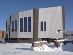 Rovaniemen kaupungintalo jonka suunnitteli Alvar Aallon suunnitteli