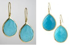 The Ippolita earrings are nearly a grand, while the Stella & Dot pair is less than $50! shop now or repin for a chance to take home free http://www.stelladot.com/denikaclay