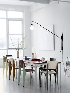 The authentic Prouvé Standard SP Chair Designed by Jean Prouvé is back and it's exclusively at DWR.