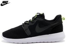 more photos 7e43a ea80c 2014 Mens Nike Roshe One Hyperfuse Mesh And Suede Uppers 3M Reflective Shoes  Black,Wholesale