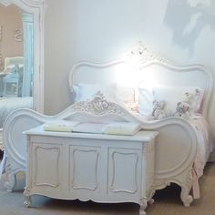 For the princess in you - Chateau White French Bed : Beau Decor