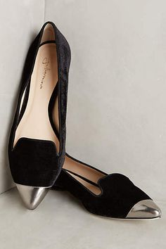 Guilhermina Velvet Smoking Slippers - anthropologie.com