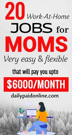 Online Jobs For Moms, Online Work, Work From Home Opportunities, Work From Home Jobs, Earn Money From Home, Earn Money Online, Business Ideas For Beginners, Job Interview Preparation, Extra Money