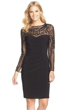 Black dress plus size xscape