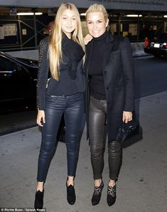 Yolanda Foster Fashion | Like mother, like daughter! Yolanda Foster tries to keep up with her ...