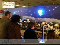 El primer Belén Interactivo de Playmobil, exposiciones, playmarkt, grupo axfito, automatización, arduino