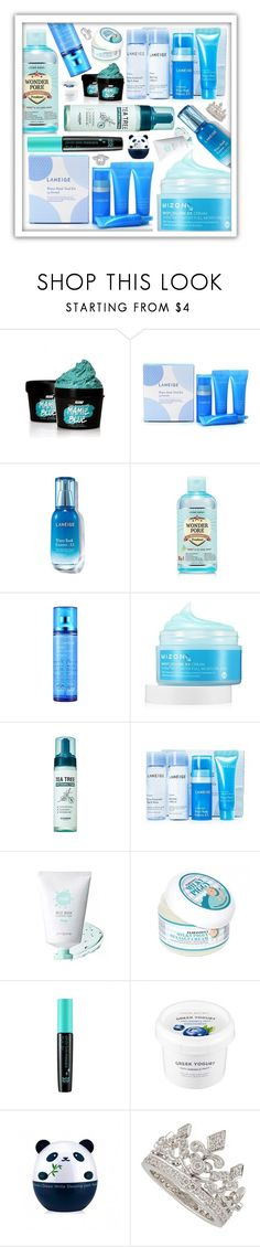 """Clean blue skincare"" by beanpod ❤ liked on Polyvore featuring beauty, SkinCare, Etude House, peripera, TONYMOLY, Garrard and Annello"
