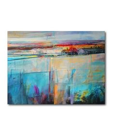 Look what I found on #zulily! Soft Morning Light Wrapped Canvas #zulilyfinds