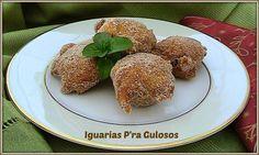 Iguarias p'ra Gulosos: Sonhos de Abóbora