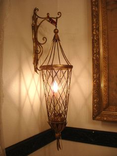 Antique French Wall Sconce