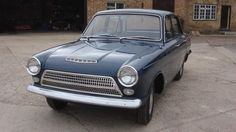 New and Never Registered: 1964 Ford Cortina Mk1