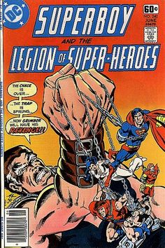 Superboy and the Legion of Superheroes 240