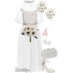 55139f0480d Plus Size Bridal - Shop Alexa Webb Styled Polyvores – Society+ And So The  Adventure Begins