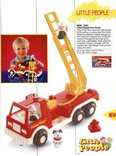 1989 Little People fire engine