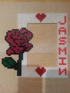 Bilderrahmen Rose