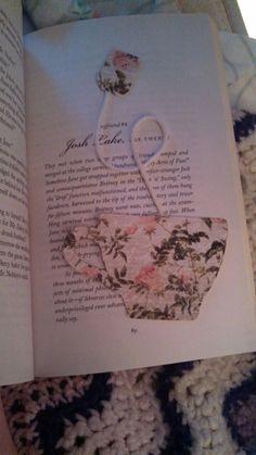 handmade bookmark. super cute!                                                                                                                                                                                 More