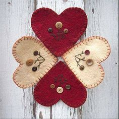 Wool Felt Central: Favorite Valentine Projects to Make