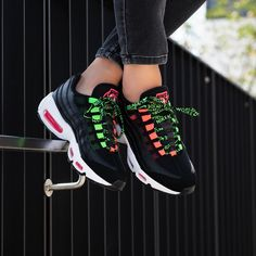 Nike Women's Air Max 95 « Worldwide » Credit : 43einhalb — #nike #airmax #sneakerhead #sneakersaddict #sneakers #kicks #footwear #shoes #fashion #style