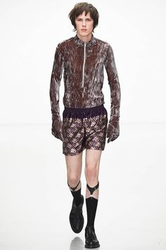 Katie Eary Fall/Winter 2016/17 - London Collections: MEN - Male Fashion Trends