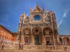 Catedral de #Siena (#Italia). #EuropeosViajeros #Italy #Europe #Europa #Travel #Viaje #Turismo #Tourism #Toscana #Tuscany