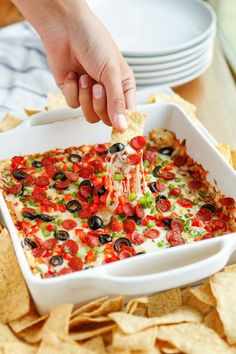 Pizza Dip Recipe --