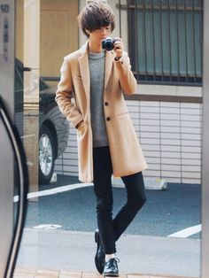Mens Fashion, Coat, How To Wear, Jackets, Dresses, Twitter, Moda Masculina, Down Jackets, Vestidos