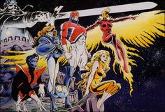 Universo HQ: EXCALIBUR (MARVEL COMICS)