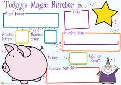Teacher's Pet - 0 - 10 Number line (farm animals) - FREE Classroom Display Resource - EYFS, number, lines, farm, animals Ks1 Maths, Numeracy Activities, Kids Learning Activities, Teaching Resources, Maths Display, Classroom Displays, Number Lines, Number Words, Magic Number