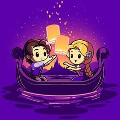 Rapunzel y Eugene Disney Pixar, Disney Rapunzel, Disney Animation, Disney Babys, Disney Fan Art, Disney And Dreamworks, Disney Cartoons, Disney Magic, Kawaii Disney