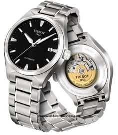 Tissot T-Tempo automatic wrist watch in stainless steel
