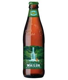 Updated packaging for Kona Brewing's Wailua Ale. Labels by Flint Design Co.