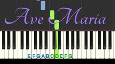 Learn how to play a simplified version of Ave Maria by Franz Schubert in this piano & keyboard tutorial. You can print the free sheet music with Latin lyrics. Keyboard Tutorial, Piano Tutorial, Music App, Music Videos, Salsa Music, Piano Songs, Free Sheet Music, Piano Lessons, Lyrics