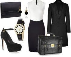 ShopStyle: CHALLENGE #12: MULTIPLE PERSONALITIES: Business Women by Dimitroula89