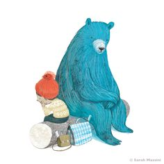 Sarah Massini - The Boy and the Bear by Tracey Corderoy