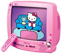 Pink Hello Kitty TV Tabitha would love this! Pink Hello Kitty TV Tabitha would love this! Hello Kitty Kitchen, Hello Kitty House, Pink Hello Kitty, Hello Kitty Crafts, Hello Kitty Bedroom, Cat Bedroom, Toys For Girls, Kids Toys, Baby Alive Dolls