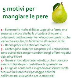 5 motivi per mangiare le pere Healthy Drinks, Healthy Tips, How To Stay Healthy, Wellness Fitness, Fitness Diet, Health Fitness, Health And Nutrition, Health And Wellness, Physical Fitness Program