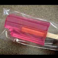 DIY soap popsicle http://homeconfetti.blogspot.com/